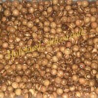 300 Olive Wood 12mm Round Beads Polished Rosary Jewelry Bethlehem Jerusalem