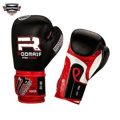 Roomaif Boxing Gloves Boxing Kickboxing Muaythai MMA Gloves Boxing Gloves DE