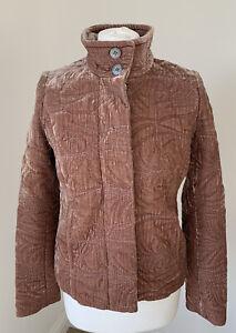 Stunning-Soft-Pink-Velvet-Silk-GHOST-London-Lined-Jacket-UK-8-10