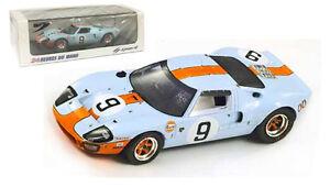 Spark 43lm68 Ford Gt40 # 9 Le Mans Vainqueur 1968 - Rodriguez / bianchi 1/43 Échelle 9580006420688