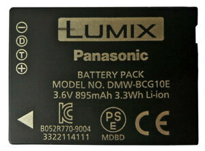 Original-Panasonic-DMW-BCG10E-Battery-Genuine-TZ20-TZ6-TZ7-TZ8-TZ9-TZ10-TZ18-TZ1