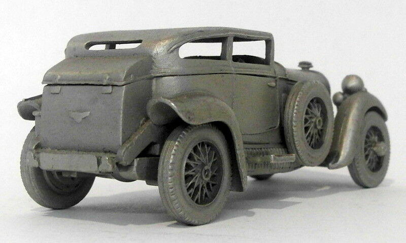 Danbury Mint Mint Mint Pewter - approx 1 43 scale - 1930 Bentley Barnato 8604cd