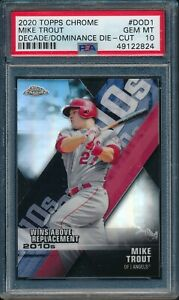 2020-Topps-Chrome-DECADE-of-DOMINANCE-DIE-CUT-Mike-Trout-PSA-10-ANGELS-GEM-MINT