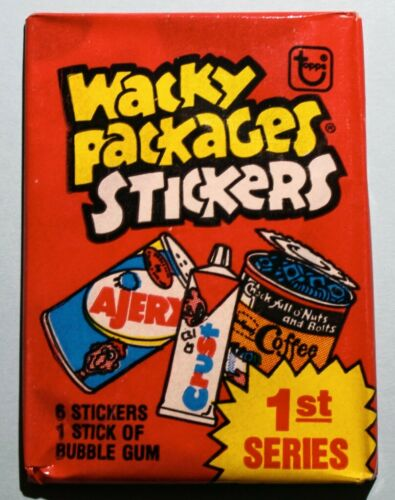1979 Wacky Package Series 1 Trading Sticker Pack