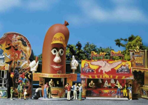 Hot-Dog-on FALLER 140464; 2 fête foraine cantines power-Ball NOUVEAU /& OVP
