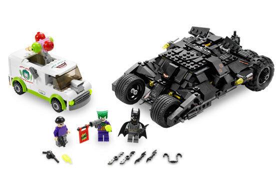 Lego Tumbler Batman & Joker Überraschung 7888 Set Minifigs mit / Neu