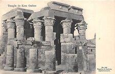 BF35833 temple de kom ombos egypt front/back scan