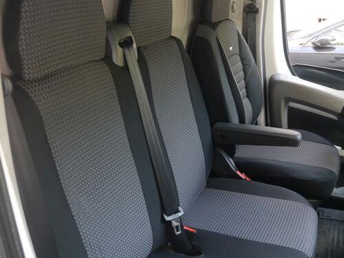 Sitzbezüge Schonbezüge Bezüge Peugeot Boxer II für Fahrersitz und Doppelbank
