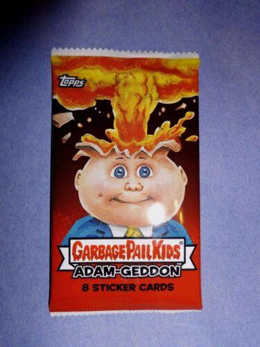 NS25 2017 Garbage Pail Kids Adam-Geddon Unopened Sticker Pack from Box!