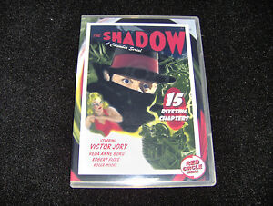 THE SHADOW CLIFFHANGER SERIAL 15 CHAPTERS 2 DVDS