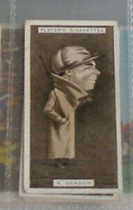 Details about #18 robert gordon horse racing - 1925 cigarette card