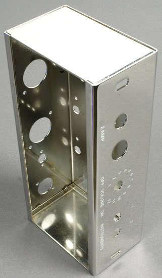 Chasis de acero acero acero cromado para la compilación 5F1'50s Tweed Champ bricolaje. 449261