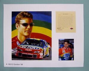 Jeff-Gordon-1996-Nascar-11x14-Lithograph-Print-scare