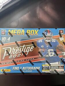 2021 Panini Prestige Football Mega box! 5 Hyper Parallels! 5 #'d! 1 Auto!!!