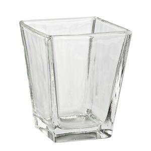 Gekonntes Stricken Und Elegantes Design BerüHmt Zu Sein Und Ausland FüR Exquisite Verarbeitung Ehrlichkeit Deko-glas Viereck 8 X 4,5 X 6,5 Im In