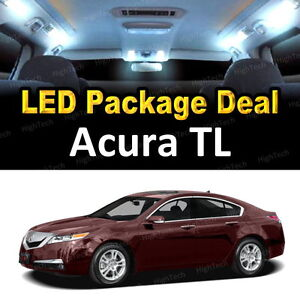 Image Is Loading 9x White LED Lights Interior Package Deal For