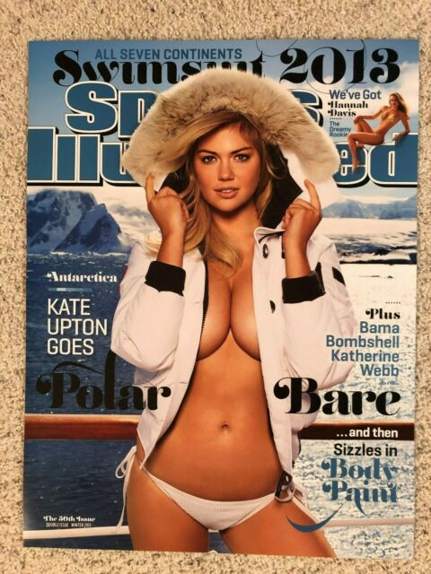 2012 KATE UPTON Sports Illustrated SWIMSUIT COVER POSTER!