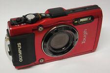 Olympus tough TG-4 wasserdichte Digitalkamera C-Ware TG4 Fachhändler rot +16GB