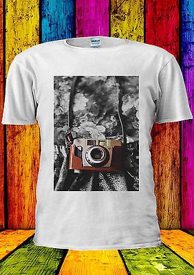 Einfach Retro Camera Vintage Photomachine T-shirt Vest Tank Top Men Women Unisex 1387