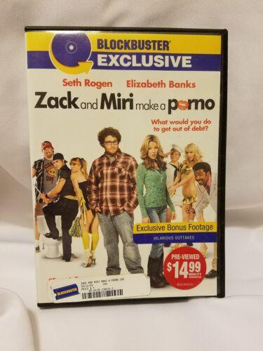 1 of 1 - Zack and Miri Make a Porno (dvd, 2009)