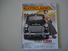 RUOTECLASSICHE 1/2013 FIAT 1200 GRANLUCE/PORSCHE 356 A/VOLKSWAGEN GOLF GTI G60