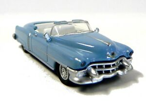 7d8eb3e25b Details about Free Shipping! HO 1:87 Scale Die Cast Car 1953 Cadillac  Convertible Blue Schuco