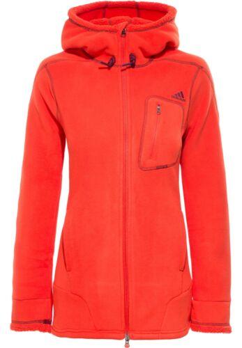 Adidas Femmes Ed teddy Fleece veste longue coupé sauwarm Moelleux Doux regarde