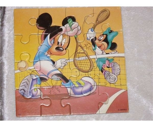 Mickey Mouse, puslespil
