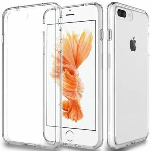 Fits-Iphone-7-6S-6-8-Plus-Xs-Max-Case-Clear-Thin-Shockproof-Soft-Tpu-Cover