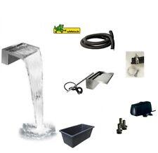 Ubbink® Wasserfall Set Niagara Wall 60 LED warmweiß inkl. Pumpe und Wasserbecken