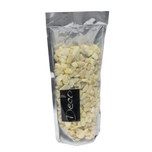 Dekosteine Fein 3-8 mm Steine Granulat Streudeko 0,5 kg Farbsteine Granulat