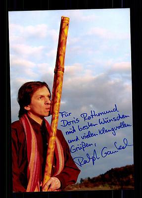Motiviert Ralph Gaukel Foto Original Signiert ## Bc 68650 National Autogramme & Autographen