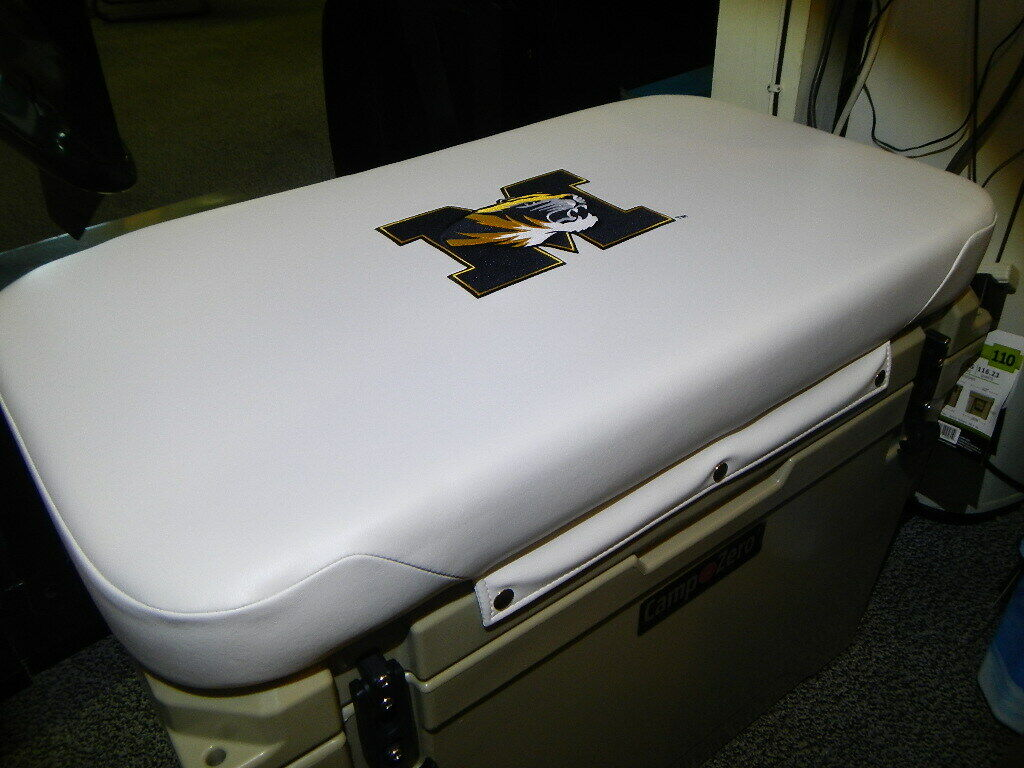 Yeti 65 qt & Others Cooler Cushion  White Univ of Missouri Mizzou FREE SHIPPING  save up to 80%