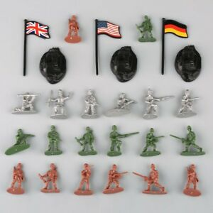 300Pcs-Military-Plastic-Toy-Soldiers-Army-Men-1-72-Figures-in-12-Poses-w-Flags