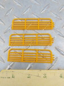1 64 Standi Toy Qty 3 16 Yellow Gates Fence Horse Cow