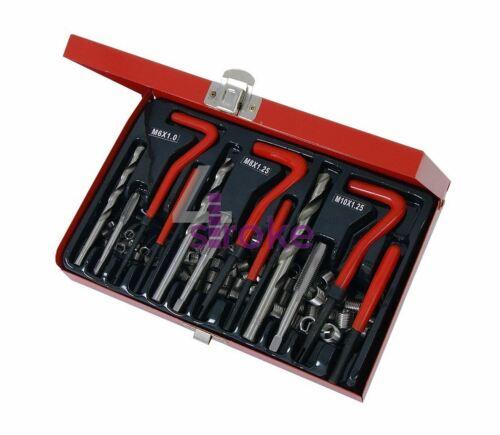 Helicoil Thread Repair Inserts de rechange pour Kit M5 M6 M8 M10 M12 M14 0.825 mm 1.75 mm