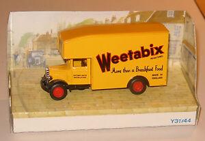 MATCHBOX-YESTERYEAR-Y31-B-1931-MORRIS-COURIER-PANTECHNICON-034-WEETABIX-034-MIB
