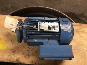 Sew-1hp-motor-type-DFT80M4-en-TEFC-1700rpm-230-460v-free-shipping