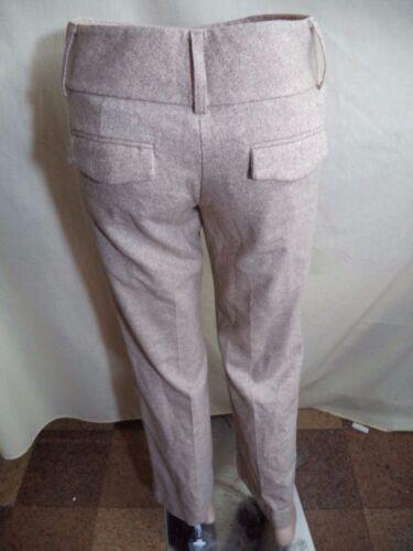 Express Womans Wool Blend Dress Pants Beige or Gray Plaid VGC Sz 2 Gray Sz 0