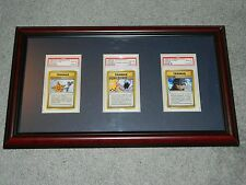 ALL 3 Pokemon Japanese Gym Set ERROR / BANNED Cards - All PSA Graded GEM MINT 10