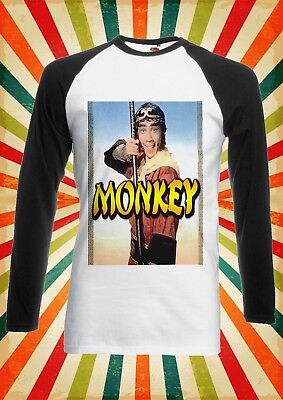 Monkey Smoking Ain`t Easy Funny Men Women Long Short Sleeve Baseball T Shirt 365