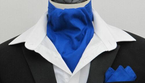 Mouchoir-plus couleurs avalible Bourgogne plaine cravate 100/% coton Ascot Cravate