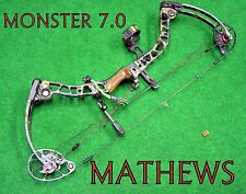 Mathews Monster 7.0  Compound Bow  *SHIP WORLD WIDE**