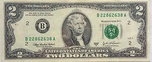 USA $2 2003 Series B 22862638 A