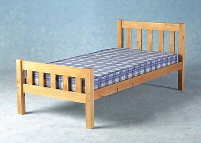 Single Bed with Mattress 3ft Pine Carlow FREE DELIVERY