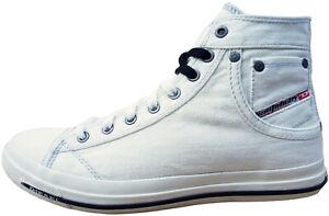 DIESEL Exposure IV W Damen Sneaker Gr. 40 Freizeitschuhe Skater Schuhe Weiß NEU