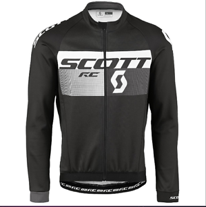 MAGLIA SCOTT SHIRT RC AS WP l\sl black-grey SCURO