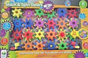 Techno Kids Stack Amp Spin Gear Mega Set New 2 657092577110