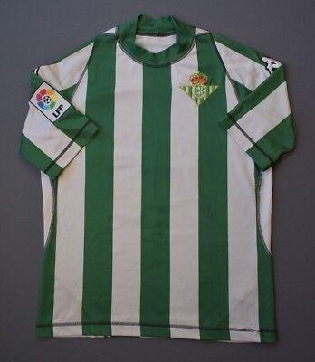 4.85 Real Betis 2003 2004 Fútbol Balonpié Home Jersey Camisa Kappa Talla M | eBay
