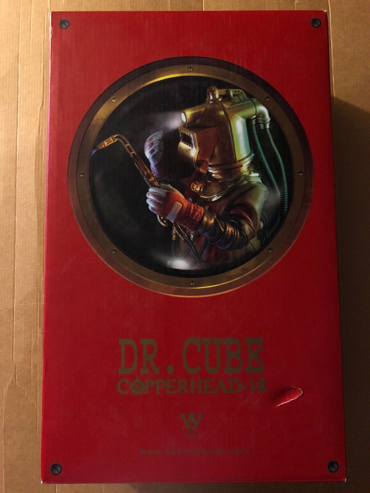 Hot Toys x Kennyswork DR CUBE Copperhead-18 12  figure Extremely HTF